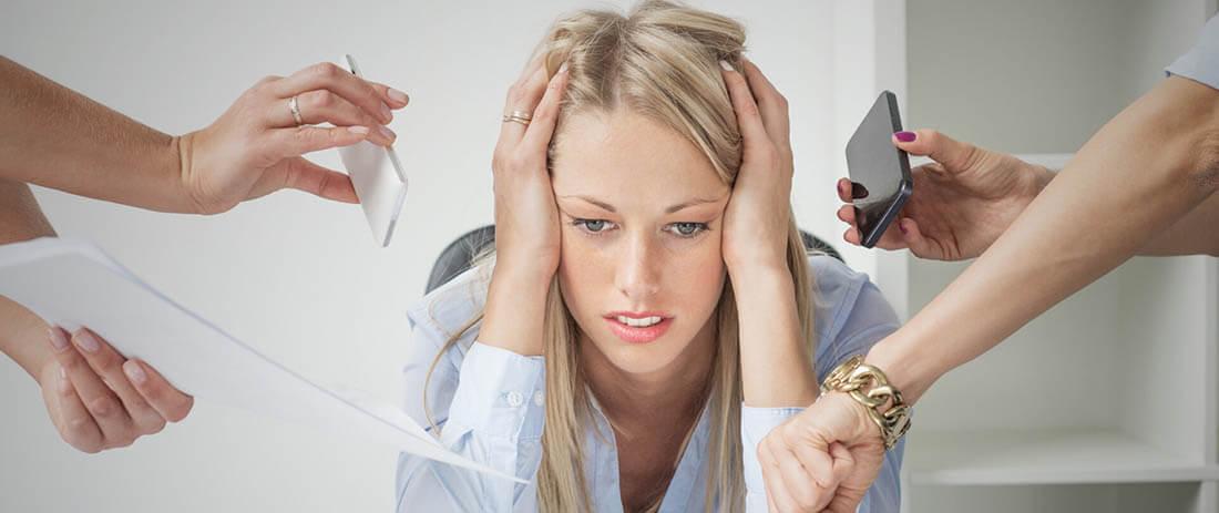 массаж при стрессе