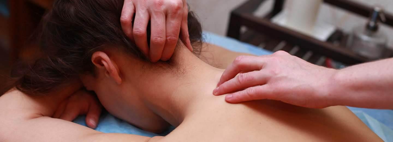 ручной массаж шеи